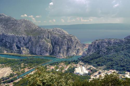Kanion rzeki Cetiny